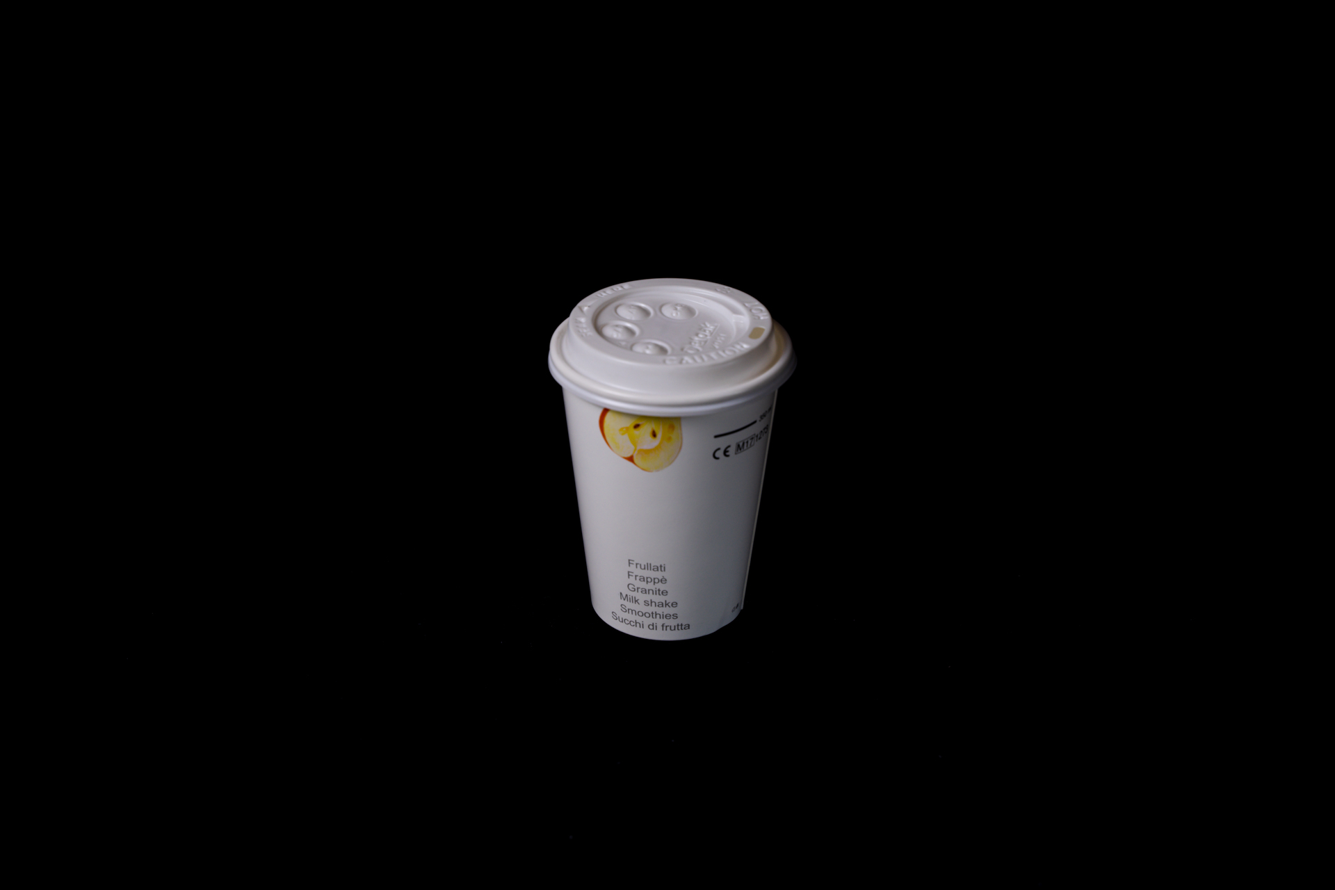 italian drink paper cup